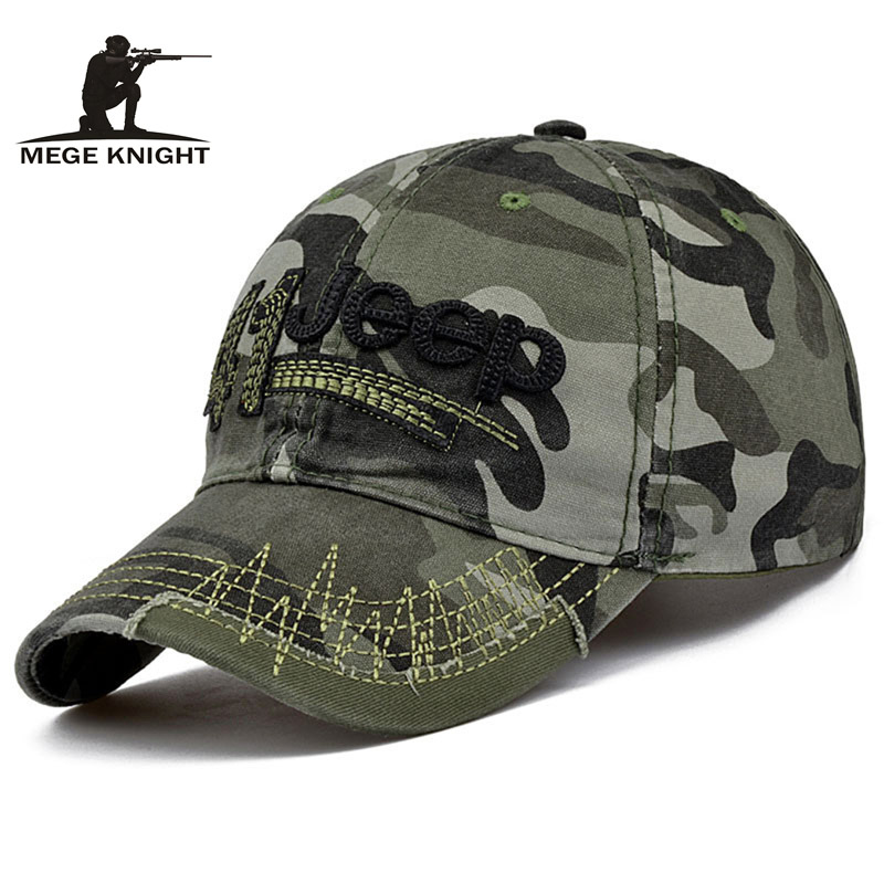 MEGE Men and Women Baseball Cap Camouflage Hat Gorras Militares Hombre Adjustable Snapbacks Caps casquette de marque