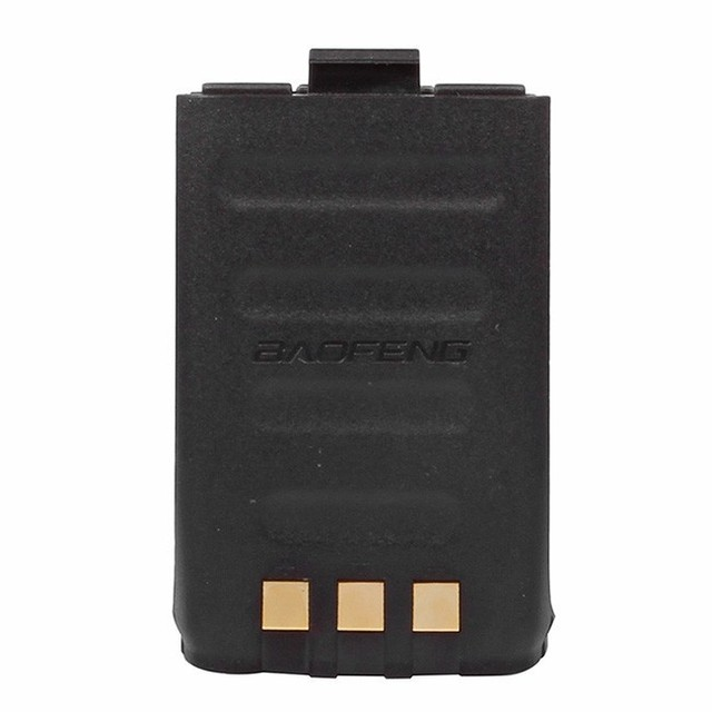Original baofeng 7.4 v 1800 mah bateria li-ion para baofeng gt-3 gt-3 mark ii gt-3 mark iii