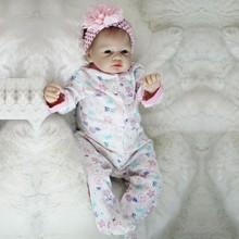 OtardDolls 22inch Soft Silicone Vinyl Doll Boneca Reborn 55cm Baby Newborn Lifelike Bebe Dolls