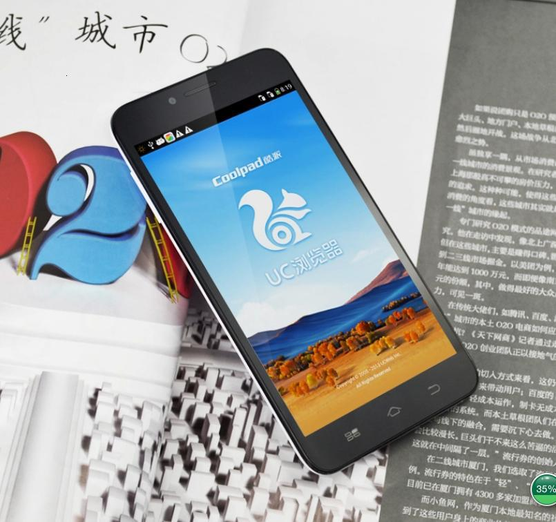 New 3G Coolpad Note(8670) Android OS4 2, 5 5 Inch IPS Ultra