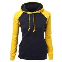 2016 Women Hoodies Casual Women Long Sleeve Round Neck Hoodies Sweatshirt Women S American Apparel Sudaderas
