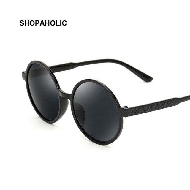 c51030e99c4bfd Ronde Vintage Zonnebril voor Mannen Zonnebril Vrouwen Merk Designer Spiegel  Vrouwelijke Sunglases Mannen Retro Óculos Gafas
