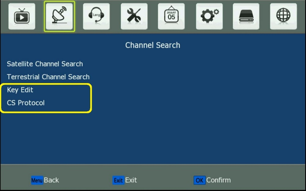02. Channel Search