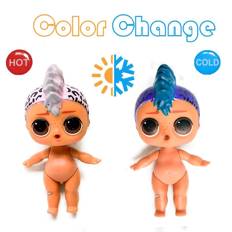 1 PC Farbe Ändern Puppe Körper serie 3 PUNK BOI Original Große Nackt Junge Seltene Sammlung Kinder Mädchen Spielzeug Für kinder Geschenk