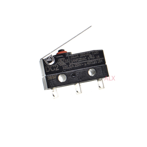 5PCS DC2C-A1LA Waterproof push button tact switch Momentary Micro Limit switches Microswitch 3Pin SPDT 10.1A 250V DC2