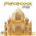ICONX Piececool DIY Металл 3D Головоломки, тадж-Махал P007G Puzzle 3D Модели, образовательные и Обучающие Игрушки, дети Игрушки/Brinquedos