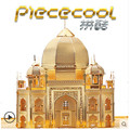 ICONX Piececool DIY Metal 3D Puzzle, Taj Mahal P007G Puzzle 3D Models, Educational & Learning Toy, Kids Toys / Brinquedos