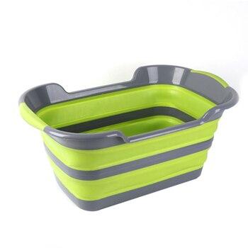 6abc91f50 Gran bolsa de lavandería de ropa cestas de almacenamiento de ropa de casa  barril bolsas plegable cesta de almacenamiento de juguete cesta de  lavandería ...