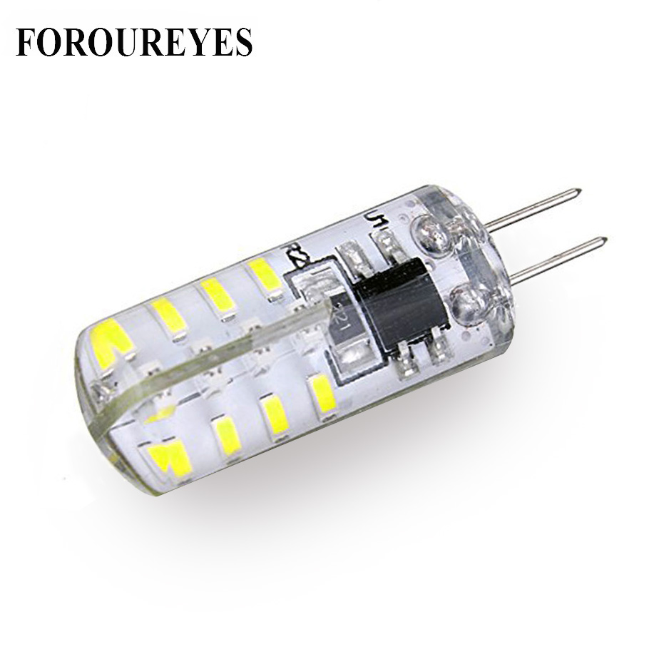 <font><b>10</b></font> <font><b>pcs</b></font> LED <font><b>G4</b></font> Bulb 110V 220V 2.5W 32leds 3014 SMD LED Lamp Silicon light For Interior design Replace 20W Halogen image