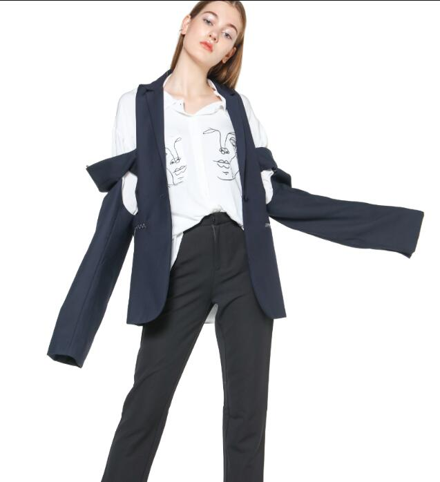 012323bf7843 Cheap Blazers, Buy Directly from China Suppliers:GETSRING Women Blazer  Removable Sleeves Single Button