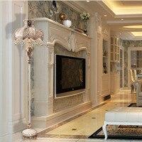 Европейский стиль ретро торшер Спальня Кабинет гостиная освещение американская Элитная вилла выставочная комната Модель лампы