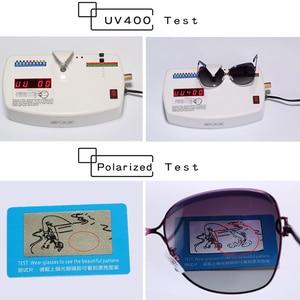 Image 5 - מקורי כוכב סגנון HD מקוטב נשים יוקרה משקפי שמש גבירותיי מותג מעצב מגניב האחרון נקבה HD UV400 שמש משקפיים gafas