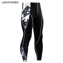 2018 New 3D Compression Pants Sport Running Tights Men Jogging Leggings Sportswear Bodybuilding Long Trousers Fitness Tights Gym