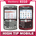 Original unlocked Blackberry 8310 curve Qwerty phones 2MP Refurbished Quad band Smartphone Free Shipping 1 year warranty