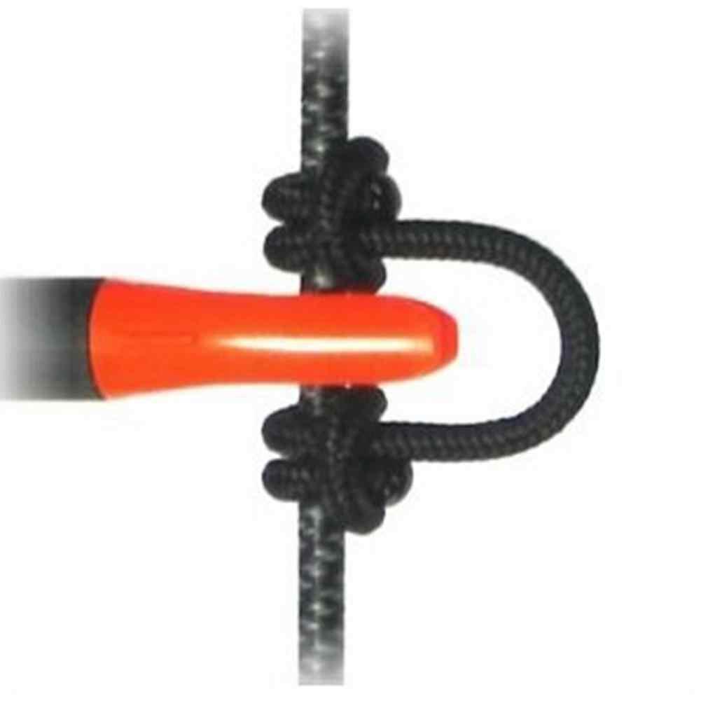 Mounchain 9ft (3 メートル) アーチェリー複合弓 D ループ高強度線ストリングナイロンノック安全リリース D ループため狩猟アクセサリー