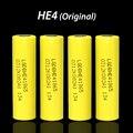 4 unids original para lg 18650 he4 3.6 v batería 2500 mah 20a 35a he4 18650 he4 herramientas eléctricas de la batería de alto consumo