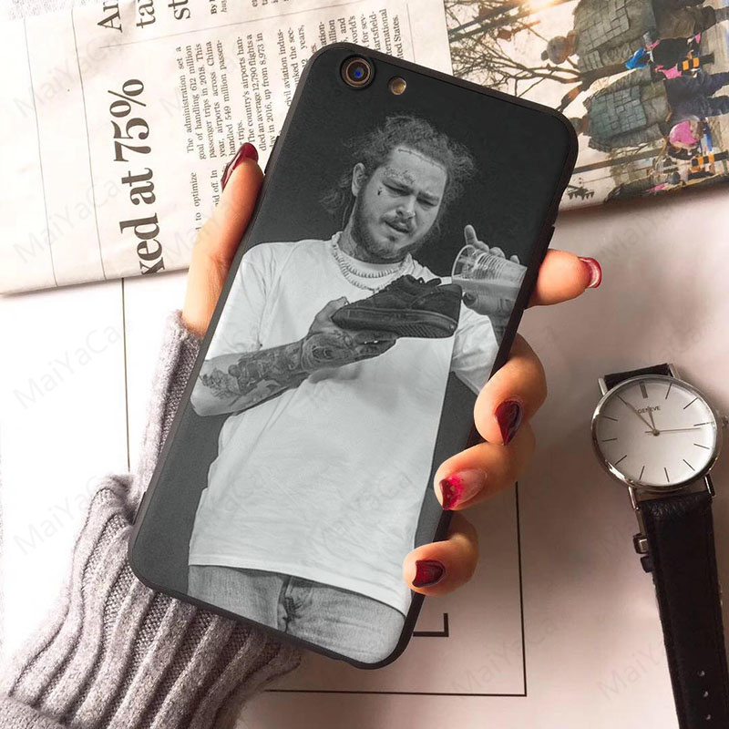 Post Malone phone Case for iPhone 6 7 8 Plus