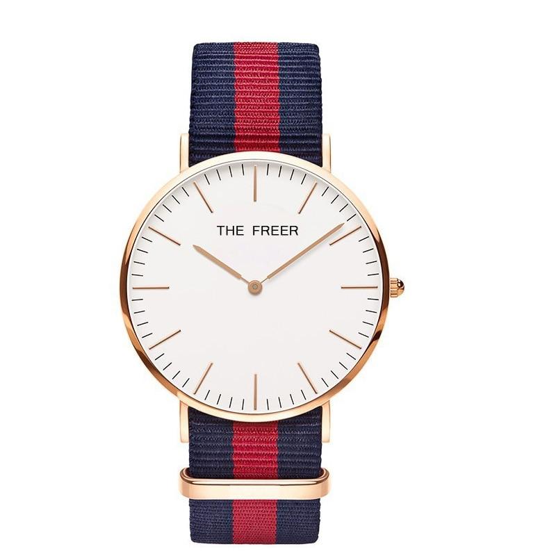 цена NATO Simple Men's Business Wrist-Watch Watchband Nylon bands DW Watch Male Geneva Clock Relogio Masculino fashion women watches онлайн в 2017 году