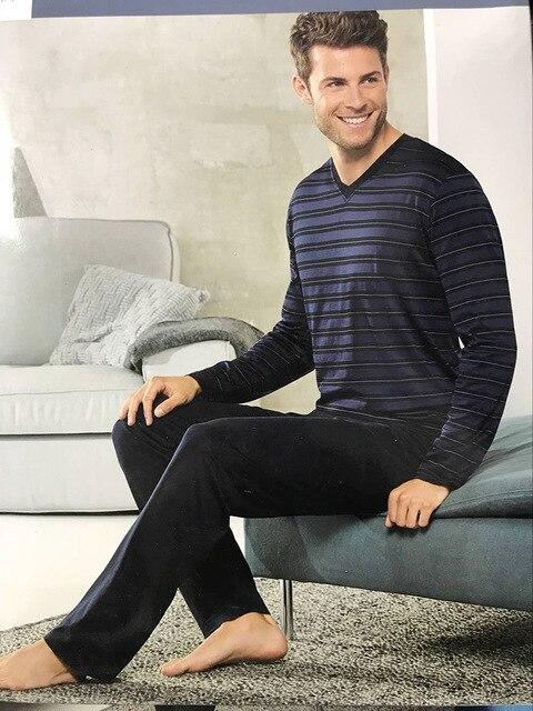 Бесплатная доставка. брендовые новые мужские пижамы для сна ... 86ad60e4c1e3f