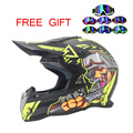 motorcycle helmet cross helmet DOT approved every rider affordable helmet ATV Dirtbke off road motocross helmet free goggles