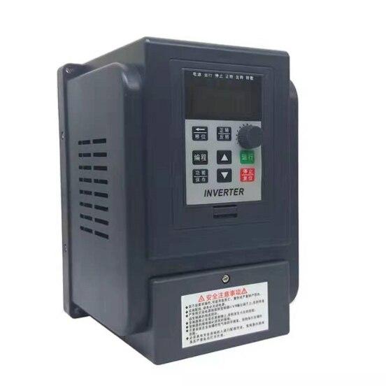 Inversor AT4 2.2KW 1 P-220 V e Saída Real 3 P-380 V elétrico do agregado familiar saída de entrada e Três-fase 380V VFD