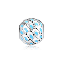CKK Fits For Pandora Charms Bracelets Cascading Glamour Charm 100% 925 Sterling-Silver-Jewelry