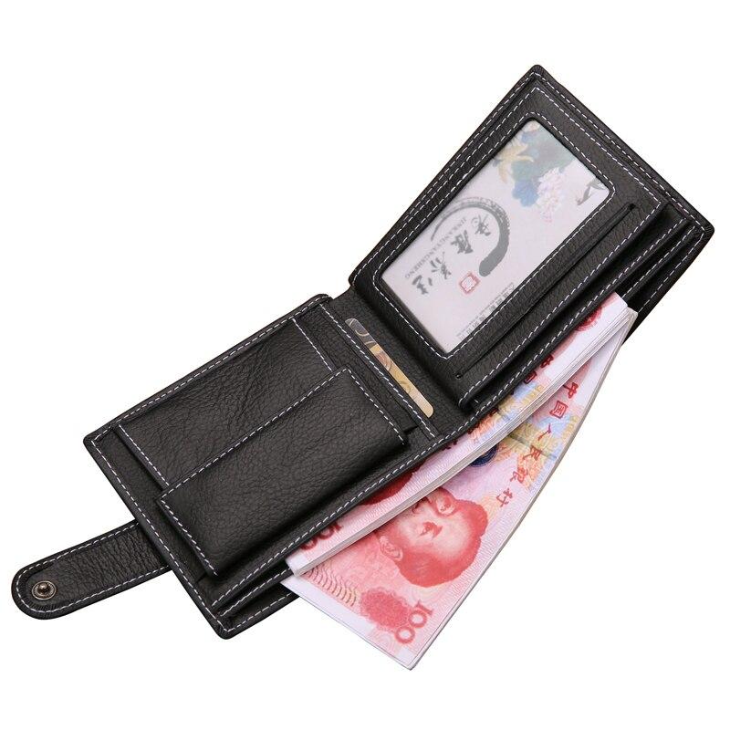 nova chegada verdadeira carteira de Tipo de Fecho : Zíper e Fecho