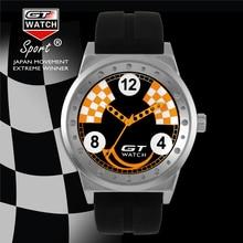 GT Auténticos Hombres de Marca Reloj de Moda Frescos de Los Deportes Serie de Carreras de Silicona Reloj de Pulsera Relojes de Lujo relogio masculino Caliente FD0794