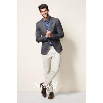 Custom Made Groom Groomsmen Tuxedos Formal Men's Slim Fit Suits Wedding Suits Men Suits (Jacket+Pants) W319