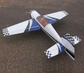 73in Yak54 30cc Радиоуправляемый бензиновый самолет ARF/бензиновый самолет ARF синий/белый Цвет