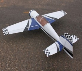 73in Yak54 30cc RC Gasoline Airplane ARF/Petrol Airplane ARF -Blue/White Color techone sbach 342 hcf depron arf to sbhcf arf
