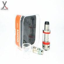 เครื่องฉีดน้ำบุหรี่อิเล็กทรอนิกส์สำหรับVapeสมัยถังแก้วEcigarette 304สแตนเลสเครื่องฉีดน้ำRebuildableถังย่อย
