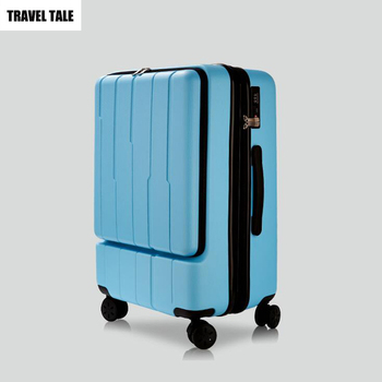 TALE Blue Carry On Suitcase