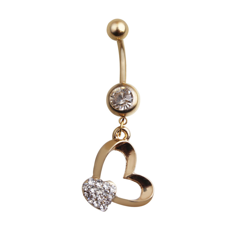 1 piece Crystal Surgical Stainless Steel Lip Body Piercing Rings I Shape Ear Stud Piercing Tragus Body Jewelry