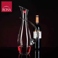 New Arrivals Czech RONA Lead Free Crystal Wine Decanters Points Unique Style 1400ML
