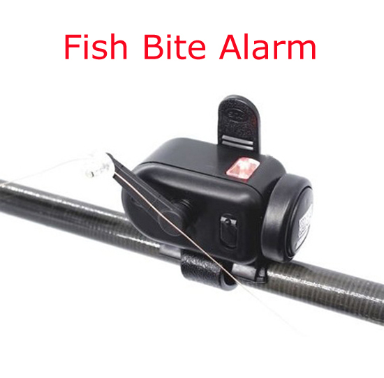 Newest Volume and Sensitivity Adjustable Fish Bite Alarm Fishing Bait Alertor Fishing Rod Signal Device
