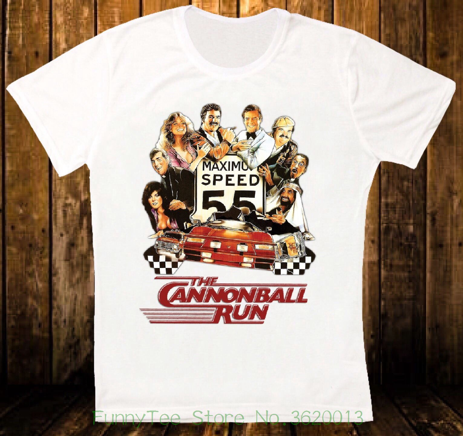 Womens Tee The Cannonball Runner Movie Car Race Retro Vintage Hipster Unisex T Shirt 901 Brand Korean Funny