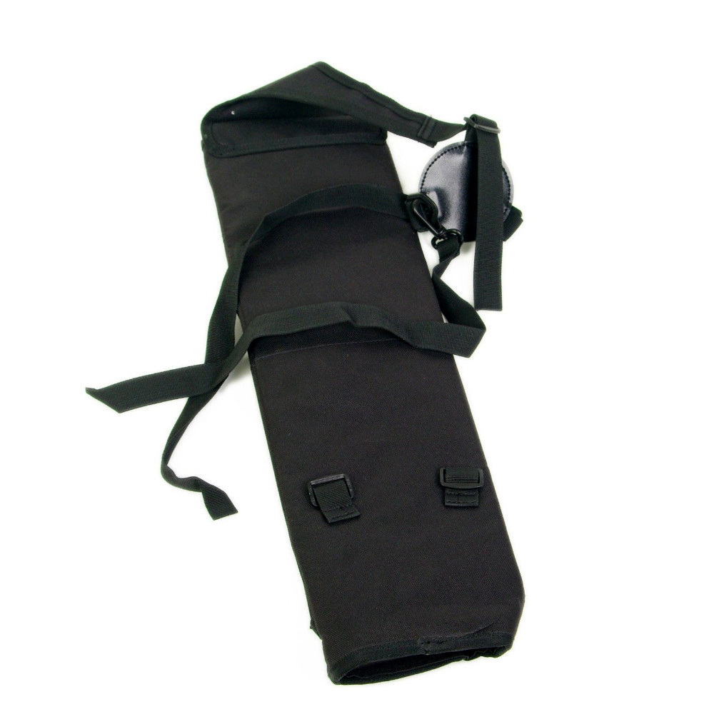 Black Quiver Bag Backpack Shoulder Canvas Quivers for more than 30pcs Arrows