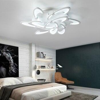 Nowoczesne Nordic rustykalne sypialnia przedpokój hali luksusowe duży kwiat biały Bubble nadaje się do ściemniania Led kuchnia żyrandol oświetlenie światła