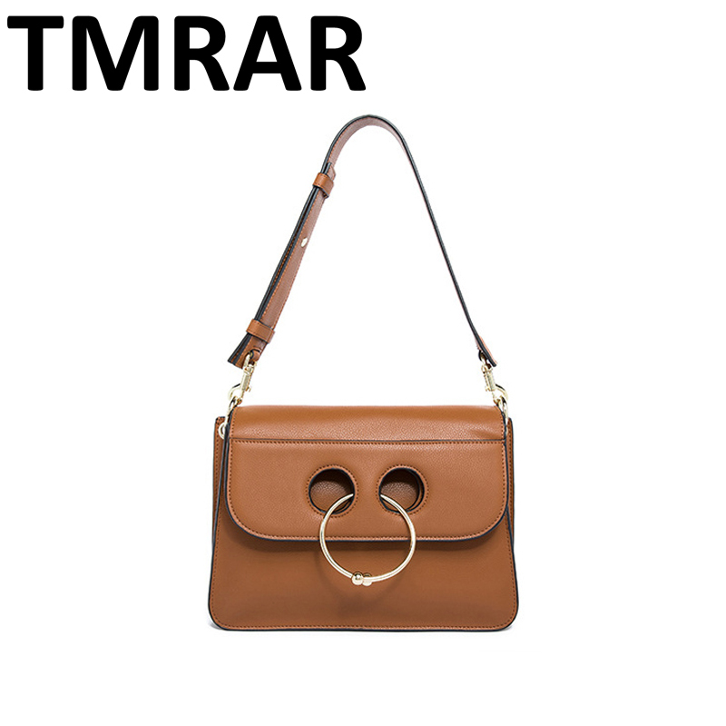 2017 New classic casual tote with metal ring lady split leather handbags popular women shoulder bags for female bolsas qn039 2017 new classic bucket messenger bags popular tote lady split leather handbags women chains shoulder bags bolsas qn250