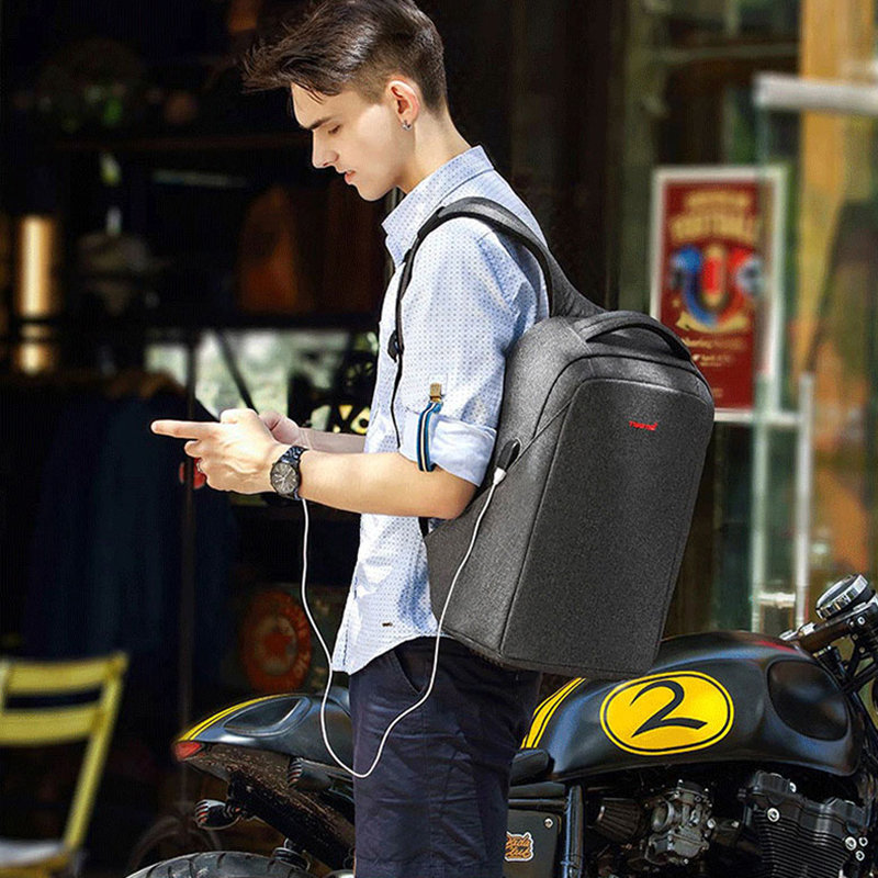 Tigernu Anti Theft Backpacks for Male 15 6 inch Laptop Waterproof Backpack for Teeanager Fashion Travel