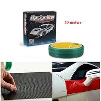 EHDIS Knifeless Tape 50m Roll Car Stickers Design Line Vinyl Car Wrap Film Cutting Line Knife Like Cuts DIY Auto Car Accessories
