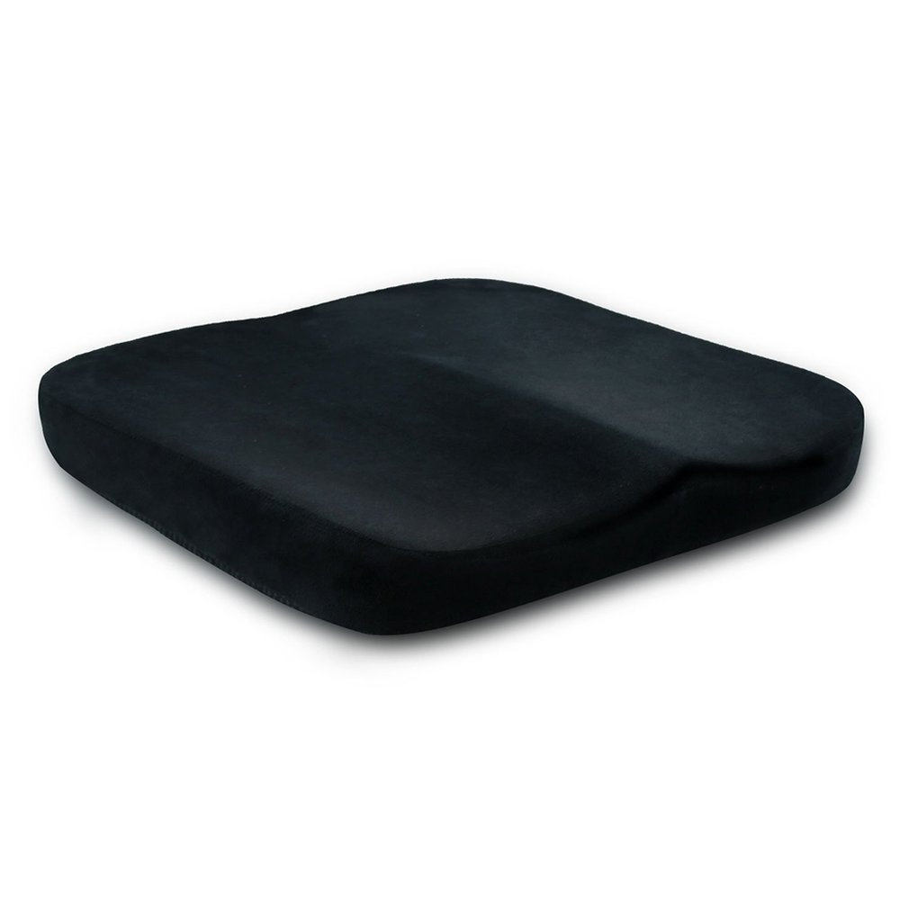 Comfortable Flat Cushion Hip Pad Anti Hemorrhoids Memory Foam Home Office Car Chair Seat Cushion