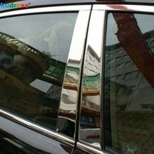 Для Mazda CX7 CX-7 2007 2008 2009 2010 2011 нержавеющая сталь окна Планки центр столбы B+ C стойки Чехлы аксессуары 6 шт