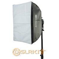 Fotostudio Softbox met Bowens Mount voor Mini Flash Strobe 60x60 cm 24