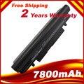 7800 mah bateria para samsung n148 n145 n150 n143 n139 np-n143 np-n145 np-n148 np-n150 aa-pb2vc6w