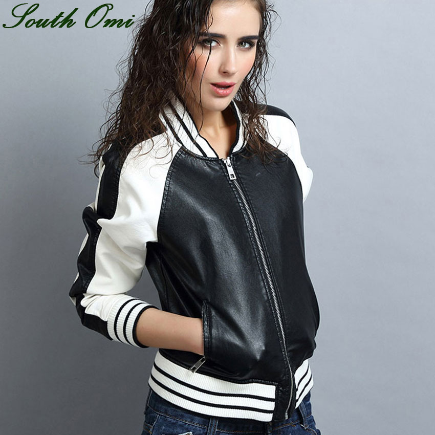 Online Get Cheap White Leather Jackets Women -Aliexpress.com