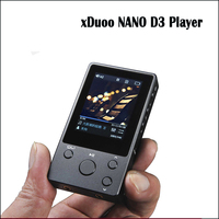 xDuoo NANO D3 hi fi player portable HD lossless music player hi res mp3 player flac wav dsd player mp3 8gb