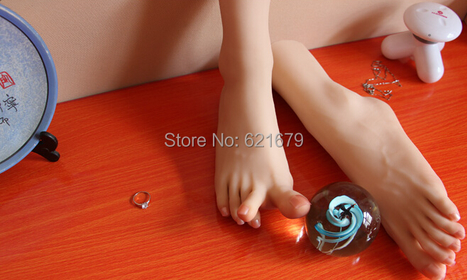NEW sexy girls gorgeous pussy foot fetish feet lover toys clones model high arch sex dolls product feet worship 37