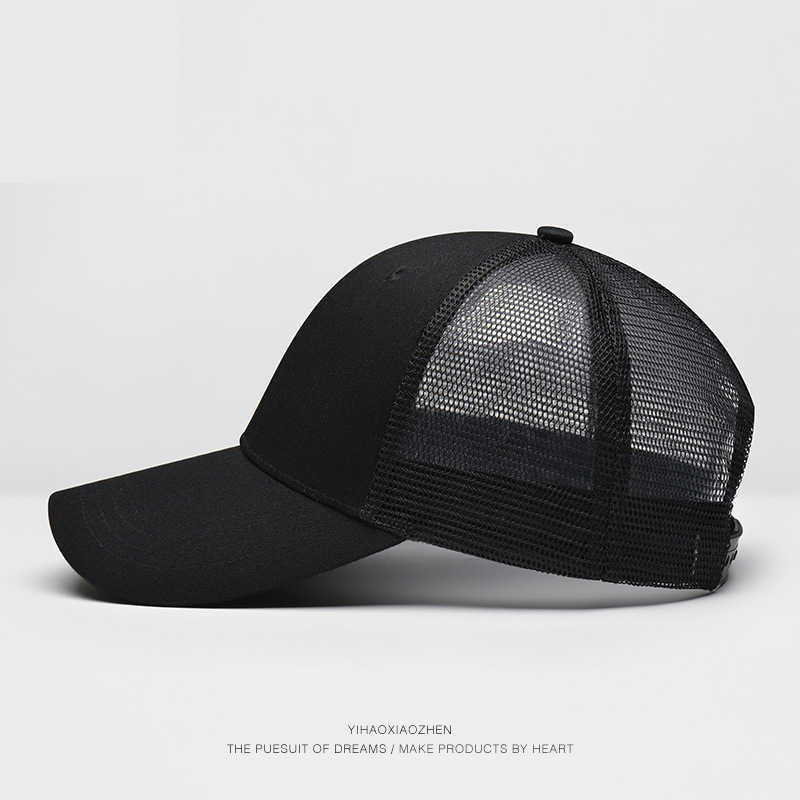 5b07b612291847 ... 2018 Men's Women's Hats Dad Hat Summer Baseball Cap Women Men Hat Sun  Visor Snapback Breathable ...